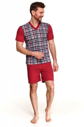 Piżama Taro Roman 002 kr/r M-2XL L'21