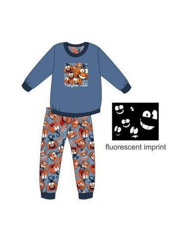 Piżama Cornette Young Boy 776/123 Pumpkin dł/r 134-164