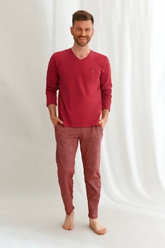 Piżama Taro 2638 dł/r Martin M-2XL Z'22