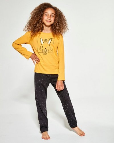 Piżama Cornette Kids Girl 973/150 Bunny dł/r 134-164