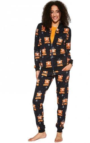Piżama damska trzyczęściowa Cornette 465/292 Bear 2
