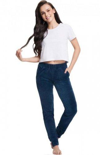 Spodnie dresowe welurowe Luna 310 3XL