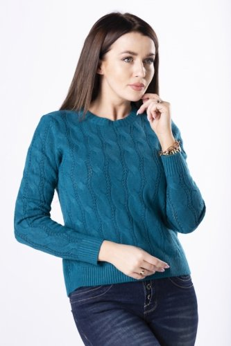 Sweterek Ramona M83049 Petrol Blue