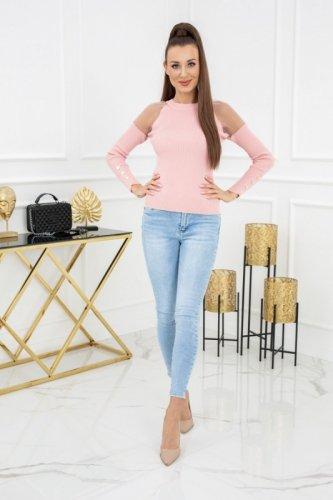 Sweterek Eliza Tulle MCY02679 Flamingo