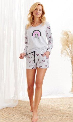 Piżama Taro Mocca 2439 dł/r S-XL Z'20