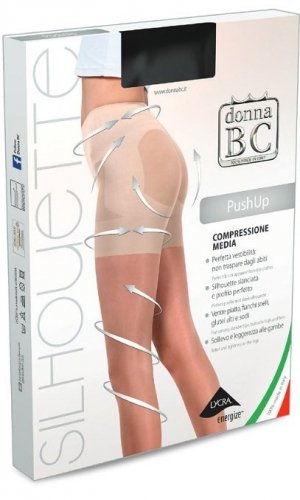 Rajstopy Donna B.C. Push Up 2-4 20 den