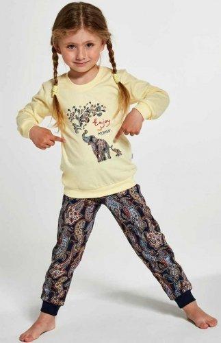 Piżama Cornette Young Girl 592/133 Elephants 134-164