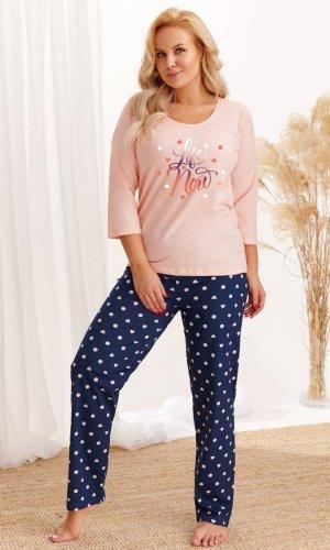Piżama Taro 2468 20/21 3/4 Nadia 2-3XL Z'20