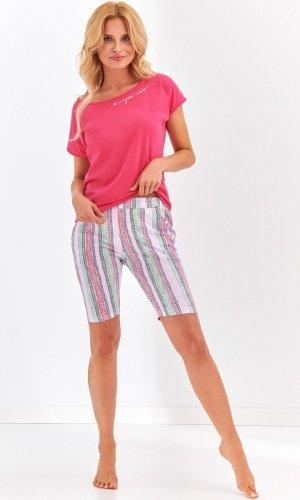 Piżama Taro 2172 Pola kr/r S-XL 'L20