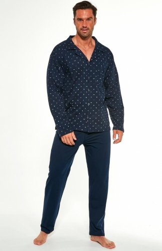 Piżama rozpinana męska Cornette 114/50 dł/r 3XL-5XL