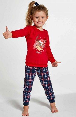 Piżama Cornette Young Girl 592/130 Reindeer 134-164