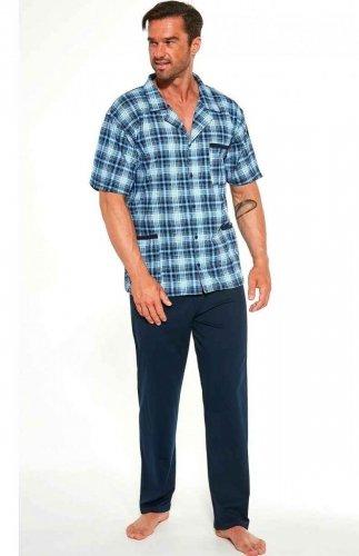 Piżama męska rozpinana Cornette 318/44 3XL-5XL