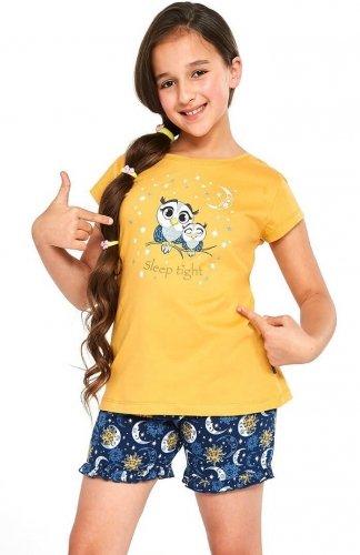 Piżama Cornette Young Girl 489/86 Owls 134-164
