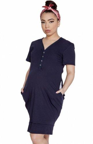 Koszula nocna ciążowa Mitex Mama Dress K