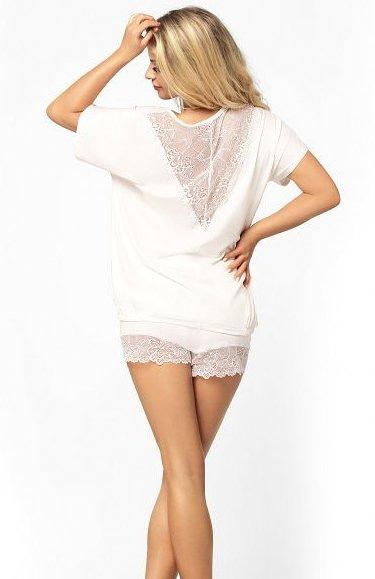 piżama damska z wiskozydkaren tamara ecru