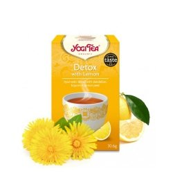 Yogi Tea oczyszczająca z cytryną (Detox with Lemon)
