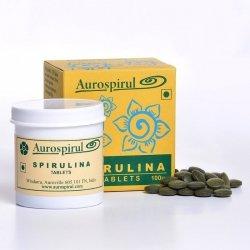 Spirulina Aurospirul 100 kapsułek