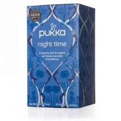 Herbata Night Time - Pukka, 20 saszetek