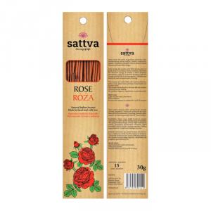 Kadzidła różane - Sattva (15szt.)