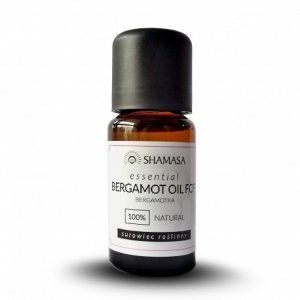 Bergamotka esencja 100% - olejek eteryczny 15 ml, Shamasa