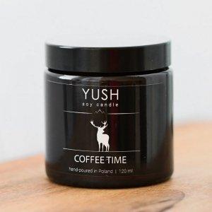 Świeca sojowa coffee time 120ml, Yush