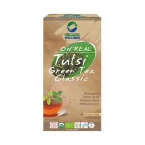 Herbata organiczna Tulsi GreenTea Classic
