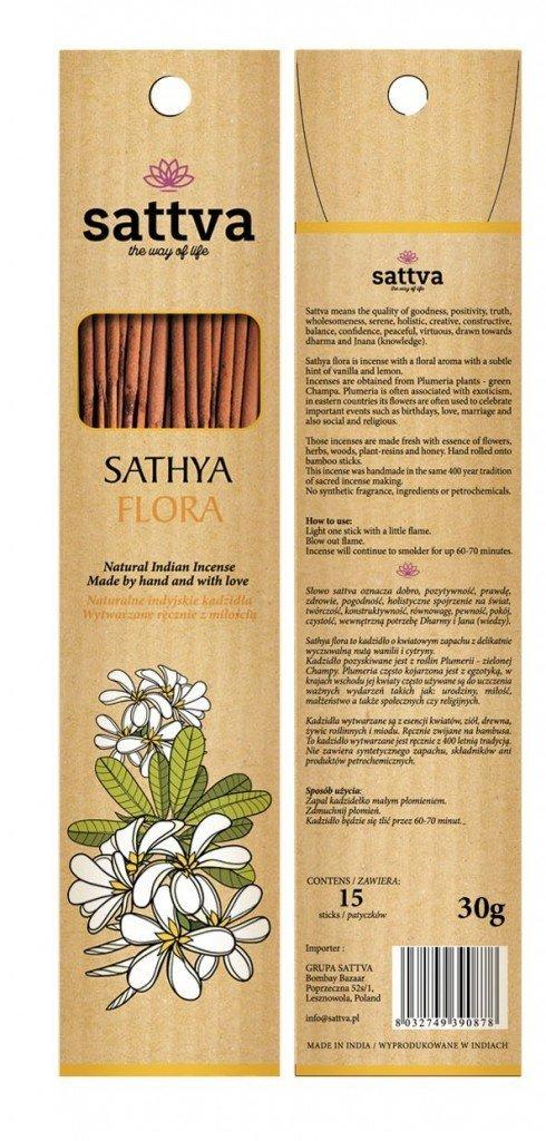 Kadzidła Sathya Flora - Sattva (15szt.)