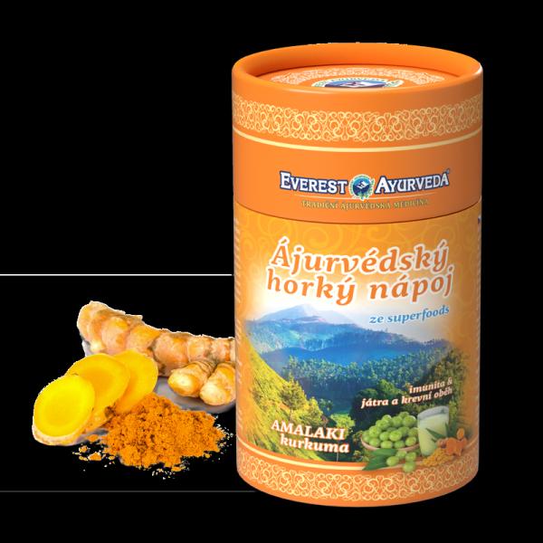 Napój amalaki (amla) z kurkumą - odporność, wątroba i krążenie krwi, 100g