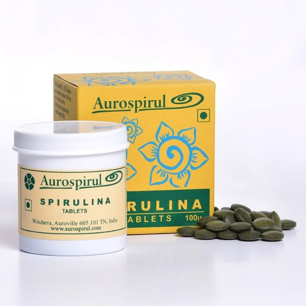 Spirulina - Aurospirul, 100 kapsułek