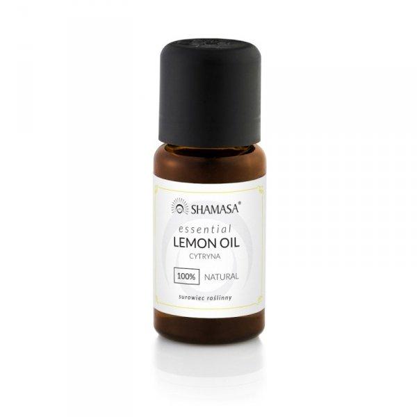 Cytryna esencja 100% - olejek eteryczny 15 ml, Shamasa