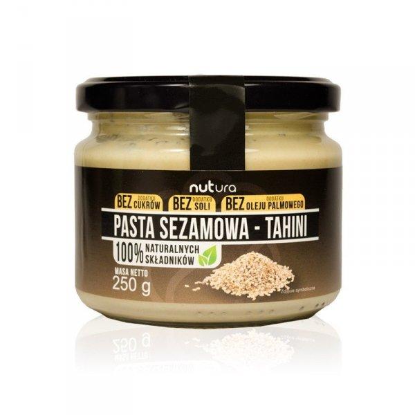 Pasta sezamowa Tahini, Nutura, 250g
