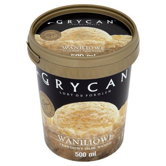 [GRYCAN] LODY WANILIOWE 500ml/6