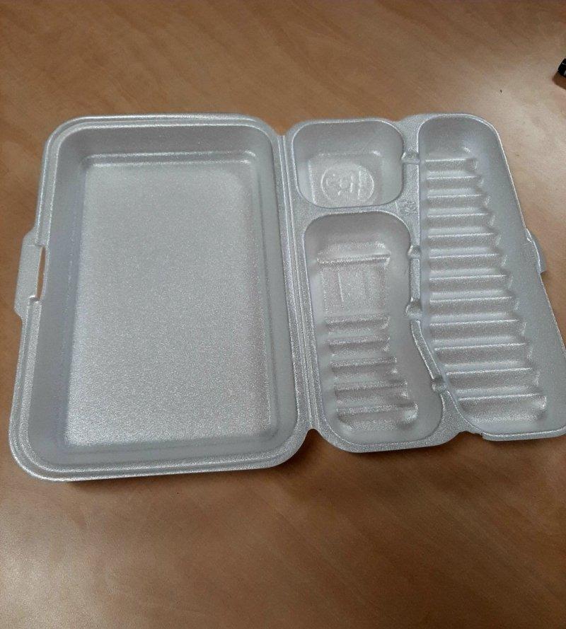 [LINPAC] Lunch box styropianowy 180szt