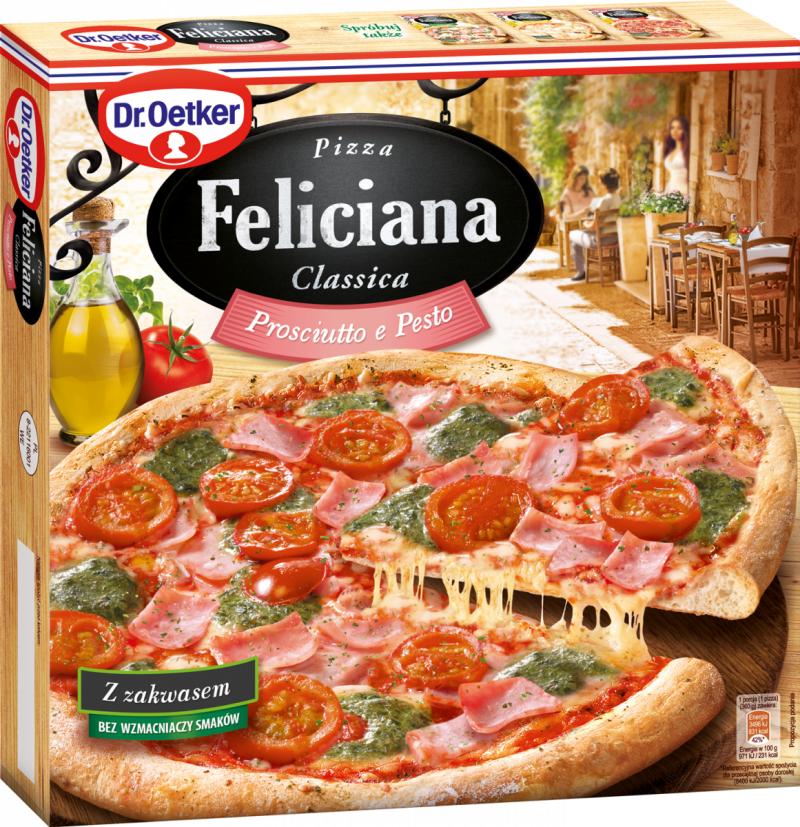 [Dr.Oetker] Pizza Feliciana SZYNKA PESTO 360g/5szt