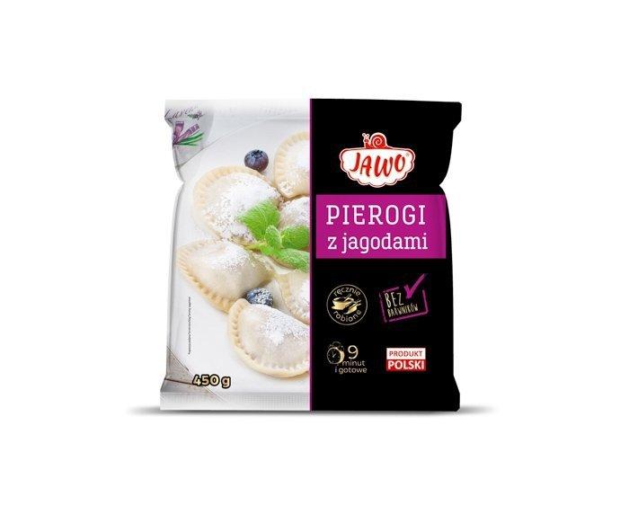 [JAWO] Pierogi z jagodami 450g 10 szt w kartonie