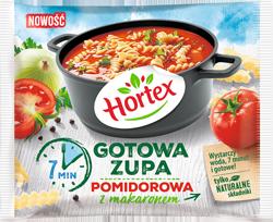 [HORTEX] gotowa zupa pomidorowa z makaronem 450g/14