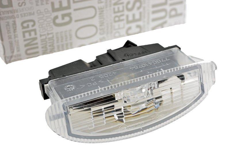 Lampka Oświetlenia Tablicy Rejestracyjnej Clio Ii Oryginał Oświetlenie Tylne Oświetlenie Lusterka Części Samochodowe