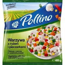 1030 Poltino Warzywa z  Ryżem i Pieczarkami 400g 1x12