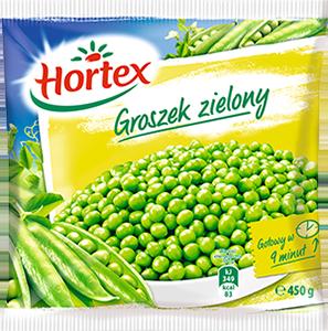 1137 Hortex Groszek zielony 400g 1x14