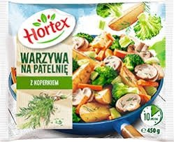 1228 WNP Hortex Warzywa na patelnie z koperkiem 450g 1x14szt
