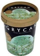 9211 Lody GRYCAN mietowe z czekolada PREMIUM 500 ml 1x6