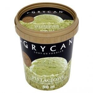 9206 Lody GRYCAN pistacjowe PREMIUM 500 ml 1/6