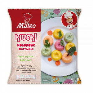 7036 MATEO Kluski kolorowe Matusie 400g 1x12