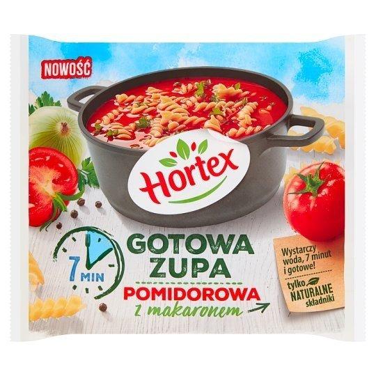 Zupa pomidorowa z makaronem gotowa do spożycie 450g 1x14