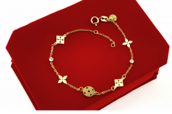 GOLD BRACELET celebrity STAINLESS STEEL