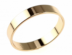 gold ring 21,00mm. gold-plated engagement xuping