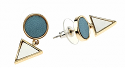 gold plated earrings with exclusive