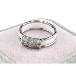 ring. 18.00mm porcelain. Stainless steel