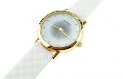 2258 Damski zegarek złoty gumowy KURREN