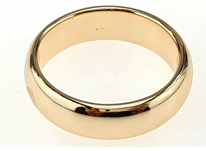 gold ring 21,30mm. gold-plated engagement xuping